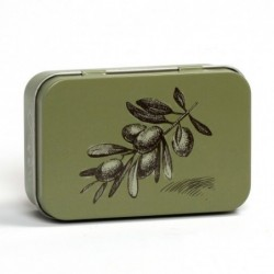 Boite Metal - Olive