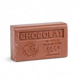 Savon au Beurre de Karité bio 125gr Chocolat