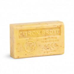 Savon au Beurre de Karité bio 125gr Citron Broye